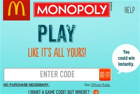 How To Redeem Mcdonalds Monopoly Instant Win - mcdonald s monopoly instant win codes