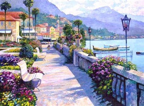 imagenes figurativas realistas de paisajes cuadros modernos pinturas figurativas paisajes
