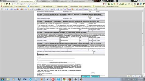 register boat without title car registration california how to fill out the