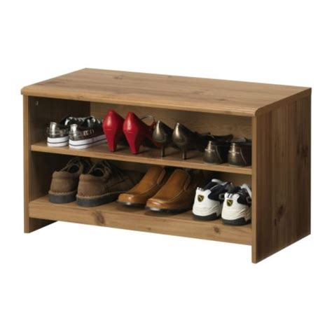 storage bench with shoe rack well designed affordable home furnishings ikea