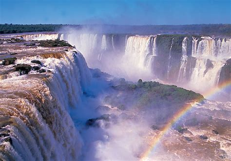 A Place Falls World Visits Tour To Iguazu Falls In Brazil Cool Place