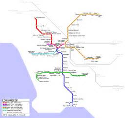 Los Angeles Transit Map by How Es298b Tools For Environmental Justice Colby