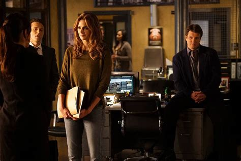 2016 series of castle start televisi 243 n stana katic beckett abandona la serie