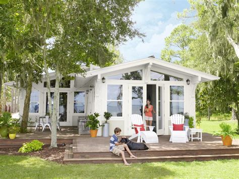 beach house renovation ideas from dump to dreamy beach house outdoor spaces patio ideas decks gardens hgtv