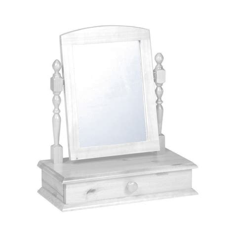 drawer with mirror white dressing table mirror with drawer palanex m 243 veis