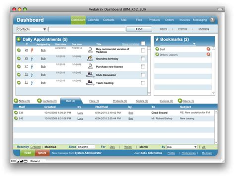 vedatrak crm 2 1 sui solutions filemaker templates