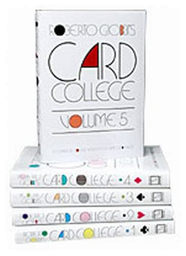 card wildcats volume 3 books card college volume 3 by roberto giobbi book tricksupply