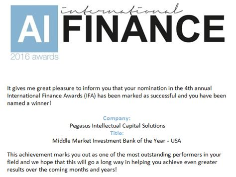 best middle market investment banks award winning investment bank best boutique investment