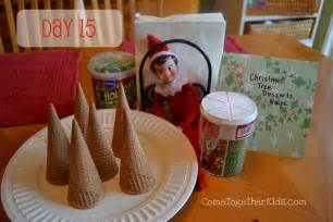 Come together kids elf on the shelf ideas week 2