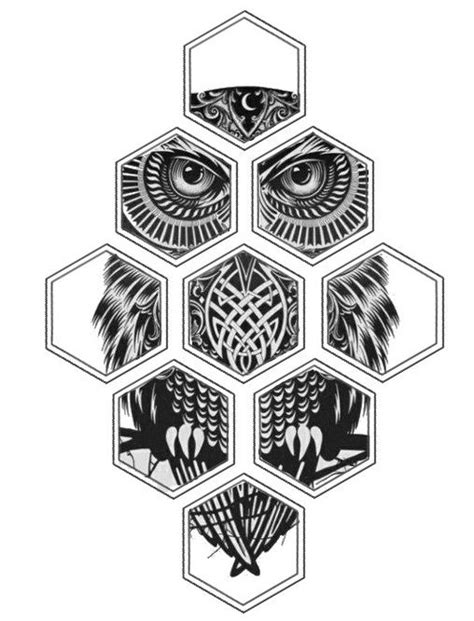 Sketchytech The Inspiration Of Hexagons For Drawing In 3d - hexagon owl hexagon designs hexagons and owl