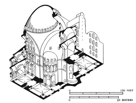 Coastal Floor Plans istanbul hagia sophia isometric diagram
