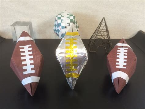Origami Paper Football - origami football choice image craft decoration ideas
