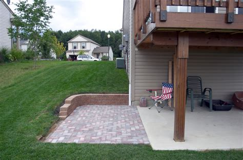 Building A Cement Patio by Building A Shed A Deck Allan Lilly Made By