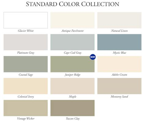 vinyl siding color chart 10 best images of variform vinyl siding color chart