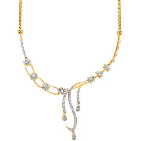 jewelry gold gold necklace 3 00 ct certified office wear