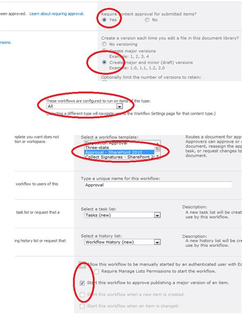 sharepoint publishing workflow problem with approval workflow based on content type and