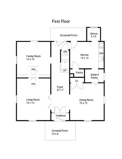 four square floor plan american four square house plans 171 home plans home design