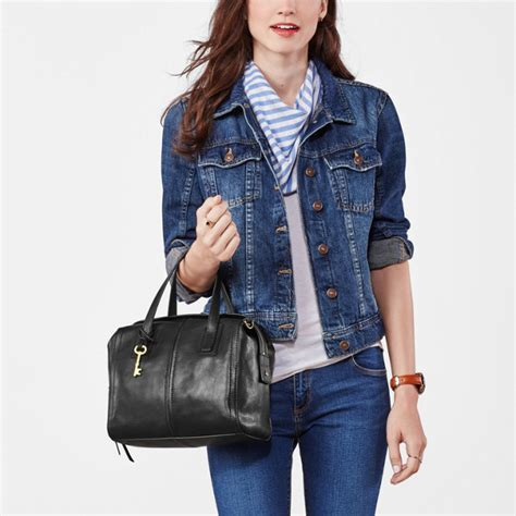Fossil Kendal Xbody Blue Marine satchel fossil