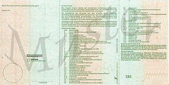 Motorrad Aus Deutschland In österreich Zulassen by Zulassungsbescheinigung Teil I Fahrzeugschein Sur