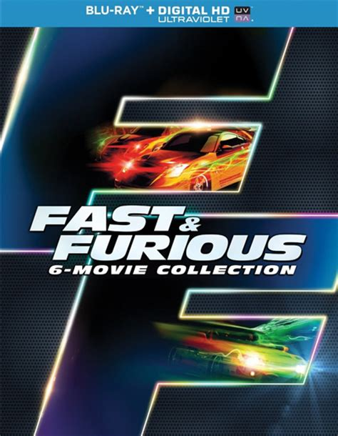 Fast Furious Collection fast furious 1 6 collection universal