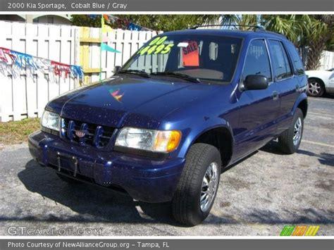 kia sportage 2000 interior cobalt blue 2000 kia sportage gray interior gtcarlot
