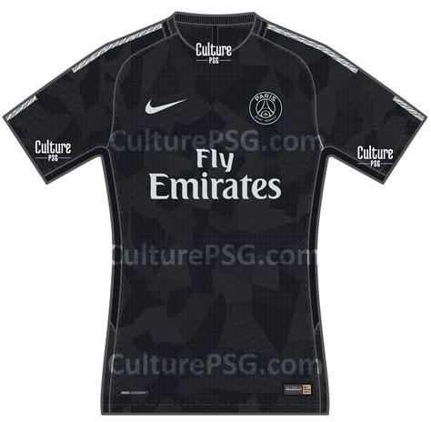 Calendrier Psg 2017 18 Club Le Maillot Europe 2017 2018 Du Psg Fuite Aussi