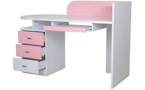study table buy elsie pink study table for kouch india