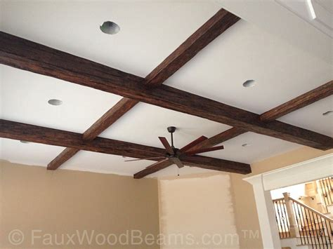 faux coffered ceiling faux coffered ceiling pictures beautiful ideas for flat