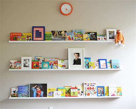 Ikea Picture Ledge For Books | sita montgomery interiors ikea ribba picture ledge turned book shelf