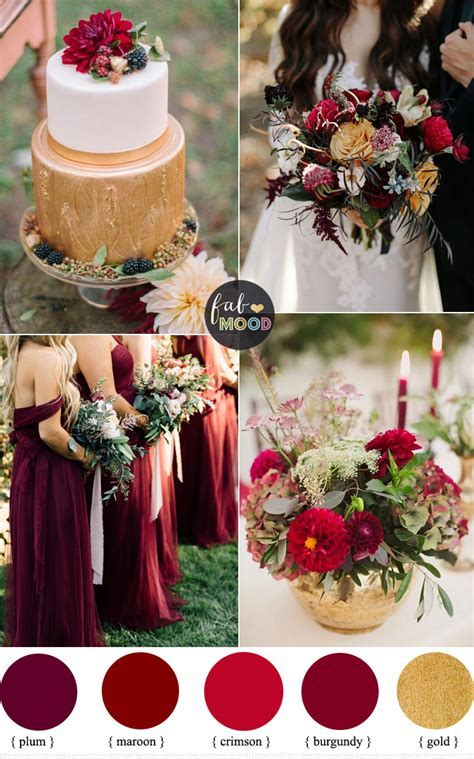 Maroon And Gold Wedding Decor Pictures   Division of