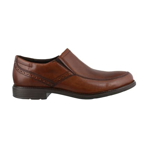 s rockport total motion slip on dress shoes peltz shoes