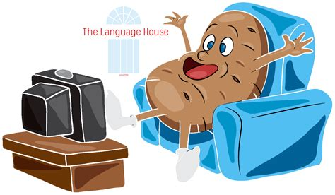 couch potato define language house welcome to english month by month