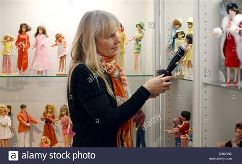 fashion doll exhibition collector bettina dorfmann looks at dolls in