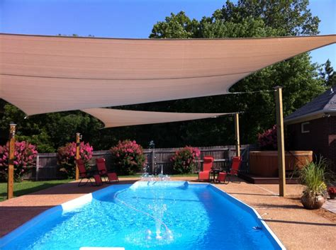 outdoor sun shade sails home installation tips and recommendations