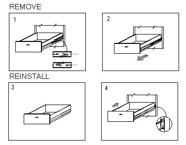 How To Remove Drawers by Formcase Inc Furnishing Your Success