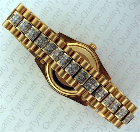 rolex day date president w custom bracelet