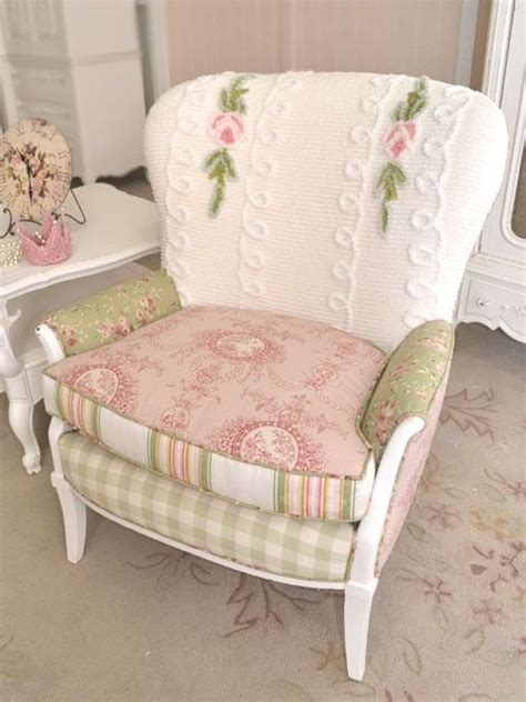 shabby chic recliner 1000 ideas about overstuffed chairs on chair