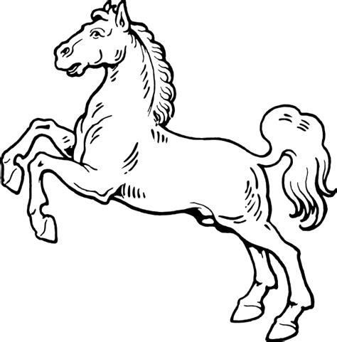 clipart cavalli white clip at clker vector clip