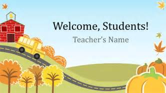 Powerpoint Templates For School by Education Office
