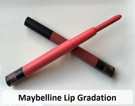 Maybelline Gradation Lip 8 maybelline color sensational lip gradation review