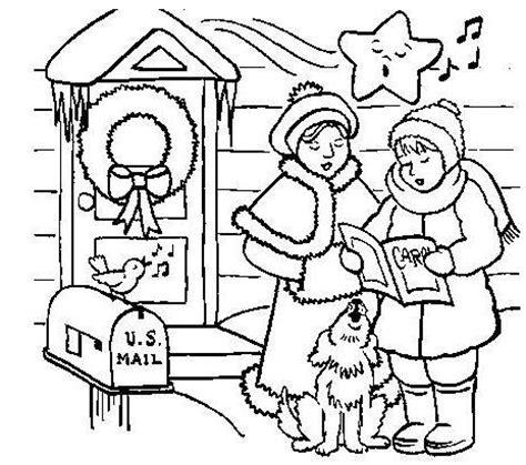 dibujos para colorear navidad e imprimir dibujos de
