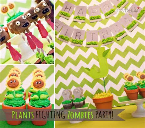 Plants Vs Zombies Birthday Decorations by Plants Vs Zombies Kara S Ideas