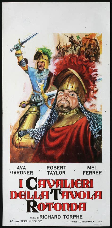 numero cavalieri tavola rotonda cinema locandina cavalieri della tavola rotonda gardner ebay