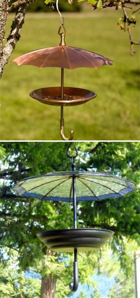 bird feeder like an umbrella birds pinterest