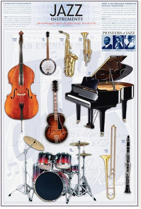 Swing Instrumente by Jazz Instruments Many Of These Were Prominent In