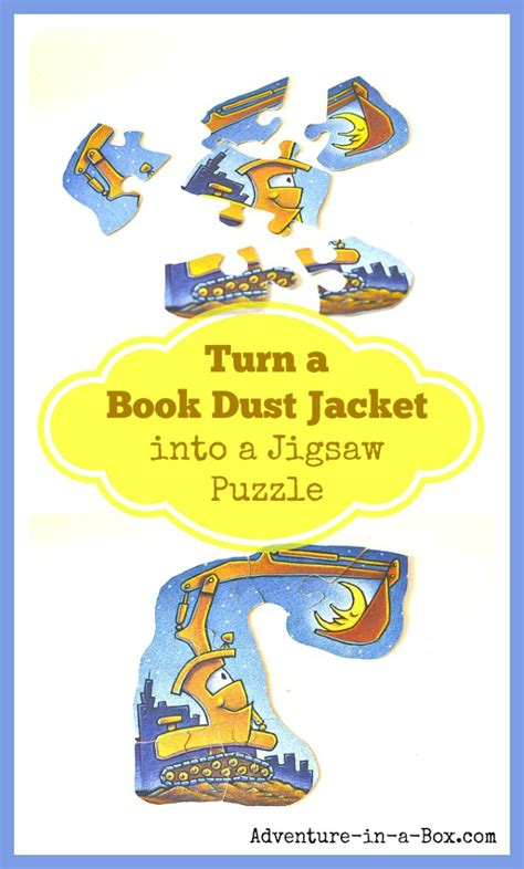 turn pictures into a book turn a book dust jacket into a jigsaw puzzle