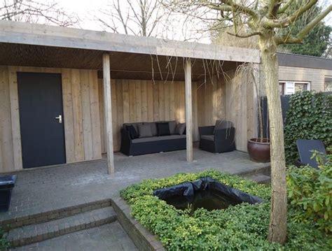 veranda quotes tuinhuis met luifel douglas lariks hout geimpregneerd