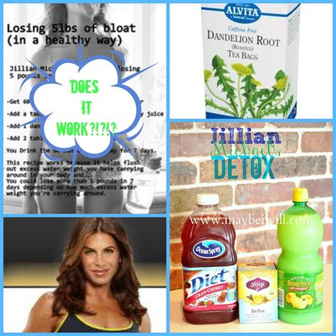 It Works Detox Cleanse Ingredients by Jillian Detox Water Recipe Detox Waters It