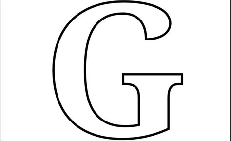 G Coloring Pages Print by Letter G Coloring Pages To And Print For Free