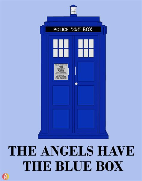the angels have the blue box doctor who alex mcdermott